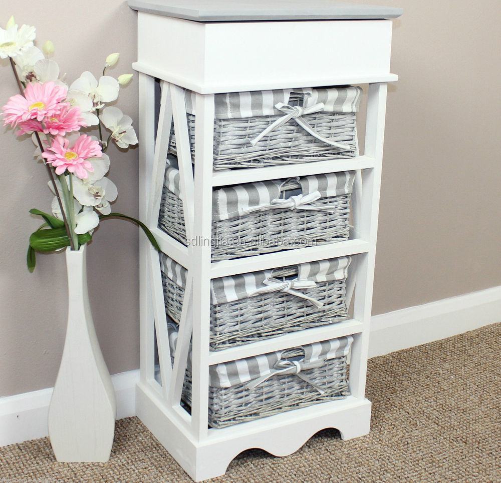 Bathroom Storage Cabinets With Wicker Drawers Tomthetrader