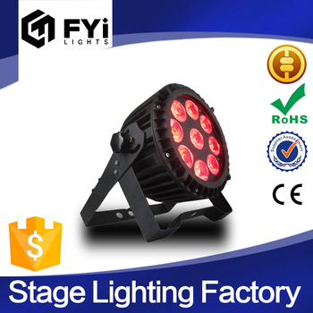 china supplier RGBWA+UV 6in1 9X15W led par lights disco dj lighting