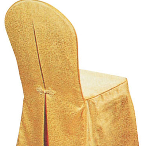Design Elegant yellow Spandex saucer Chair Covers beach chair cover from china