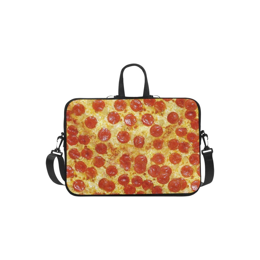 "InterestPrint Classic Personalized Food Delicious Pizza 13"" - 13.3"" /Macbook Pro Air 13 Inch Laptop Sleeve Case Bags Skin Cover for Lenovo, GW, Acer, Asus, Dell, Hp, Sony, Toshiba"