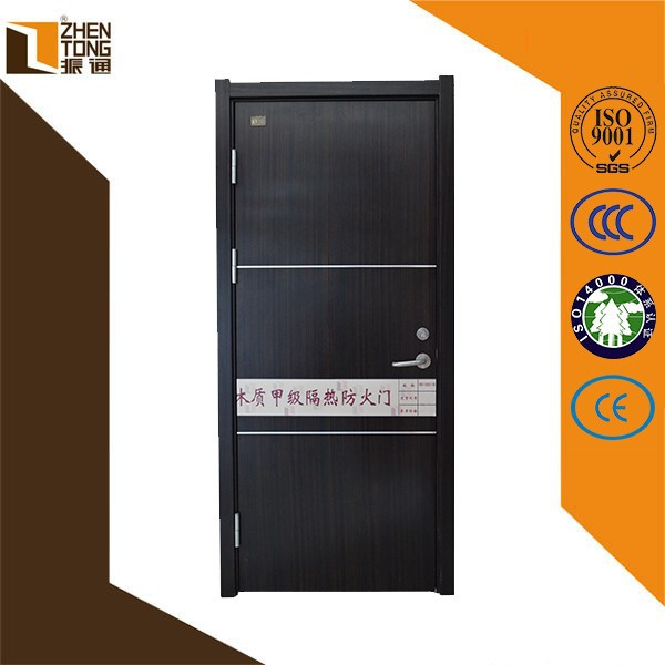 China manufacturer wholesale 90 min fire rated wooden door