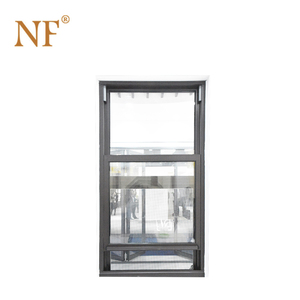 Single Hung Aluminum Single Glazing Sash Sliding Windows