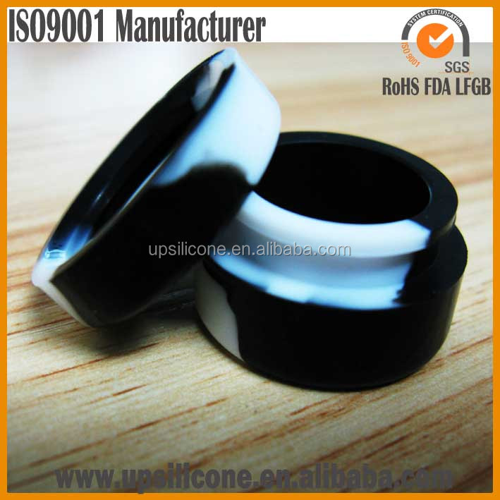 Shatter Proof Silicone Jars Non Stick Oil Wax Containers