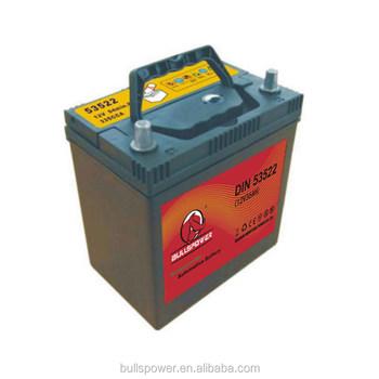 DIN 54316 Auto 12v 43ah Dry Cell Car Battery