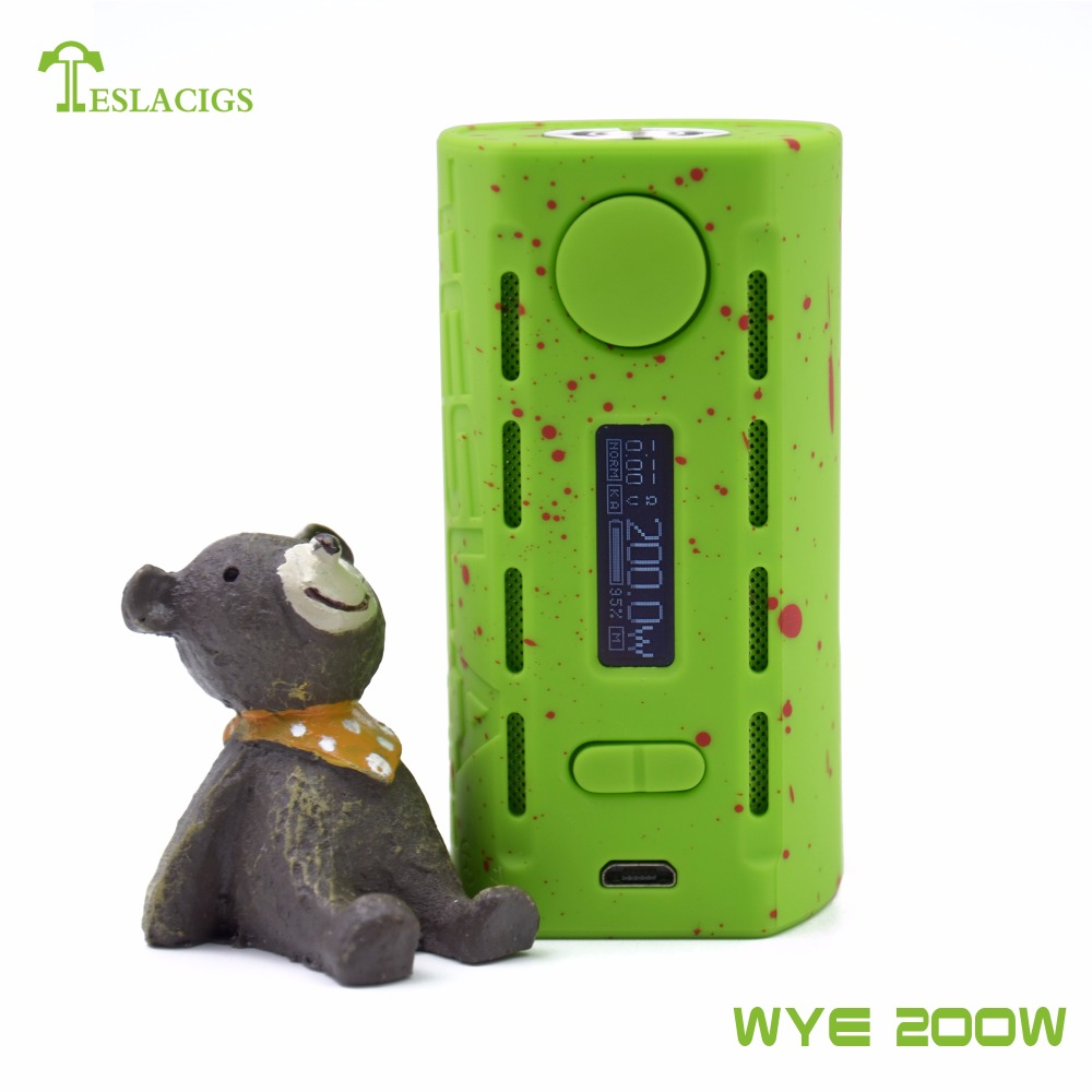 NEW!!!! Colourful WYE 200W with summer vacation style from teslacigs factory