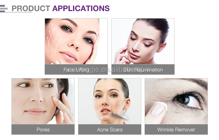 Non invasive anti wrinkle fractional rf skin rejuvenation machine with ce