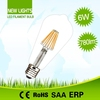 Made in China low price widely applicated replace halogen lamp 80w st64 8w led filament bulbs ul