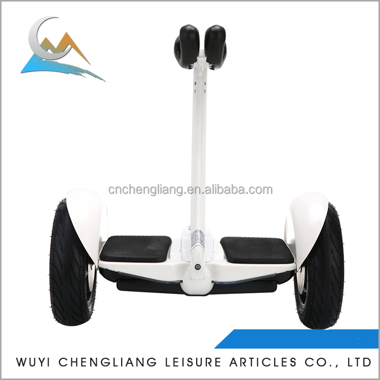 2017 quality intelligent adult 10 Inch 300w electric scooter big 2 wheel smart self balancing electric scooter