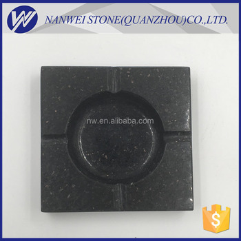 High quality custom natural Decorated granite stone small artifacts for pipe ashtray tobacco tray
