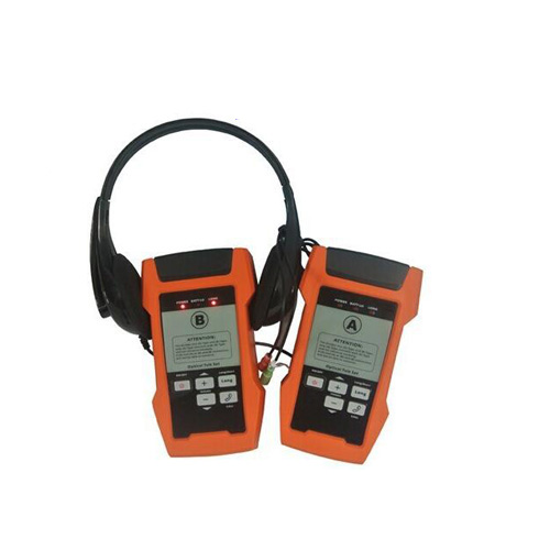 AOT600 Optical Bicara Set 1310 & 1550nm Full Duplex Komunikasi Kabel Serat Optik Tester