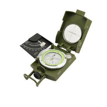 Professional Army Outdoor Use Military Geology Pocket Prismatic Compass