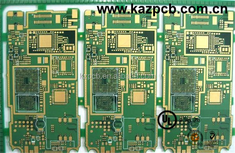Shenzhen Manufacturers Motherboard Mobile Phone FR4 94V0 PCB Circuit Board Fast Processing Proofing Multi 4 Layers Mainboard PCB