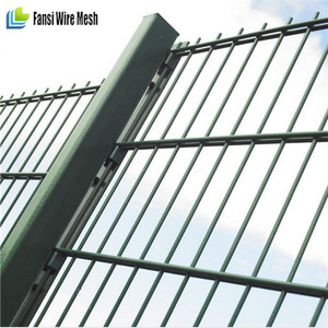 RAL 6005 color 60*60 post Dividing Fence NYLOFOR 3D FENC PANEL(Factory price)