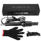 LANSAM Automatic Hair Curler Ceramic Barrel Auto Hair Curling Iron Wand with 360 Rotating Roller