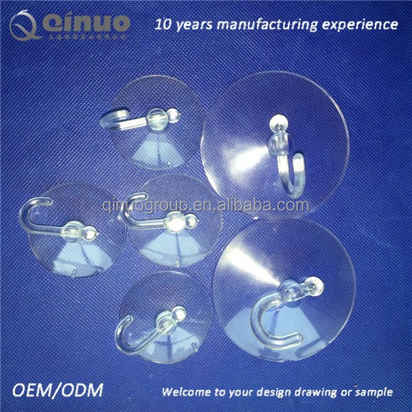 Transparent Glass Table Suction Cup