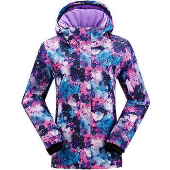 Outdoor Winter Plus Size Women Clothing Active Colourful Ski Jacket