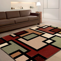 Home decor jacquard area herringbone floor rugs for home living room carpet shaggy rugs china
