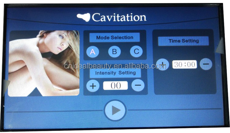 Mini portable ultrasound cavitation เครื่อง (S059)