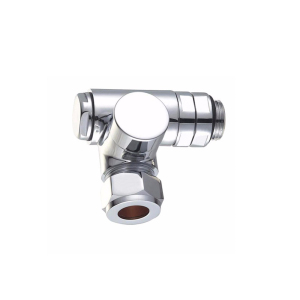 UK 1/2 15mm Chrome Corner Dual Fuel Radiator Valves Towel Rail heating element