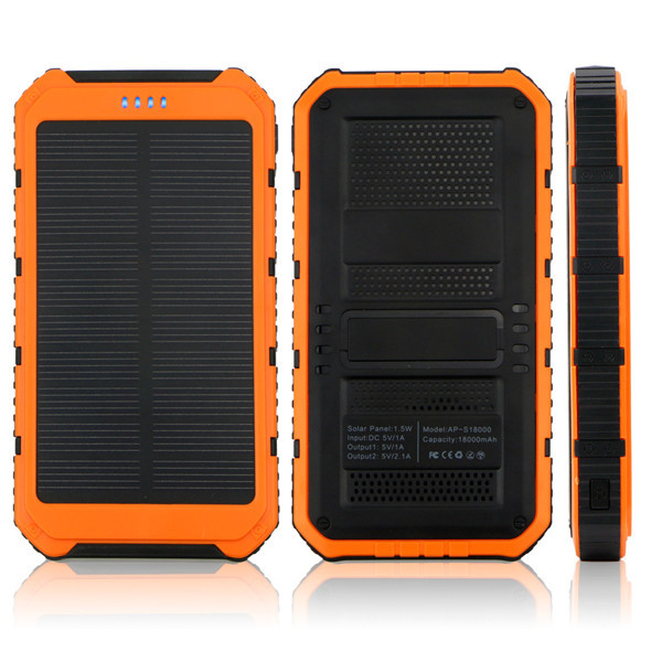 Universal Smart portable charger solar power bank 50000mAh