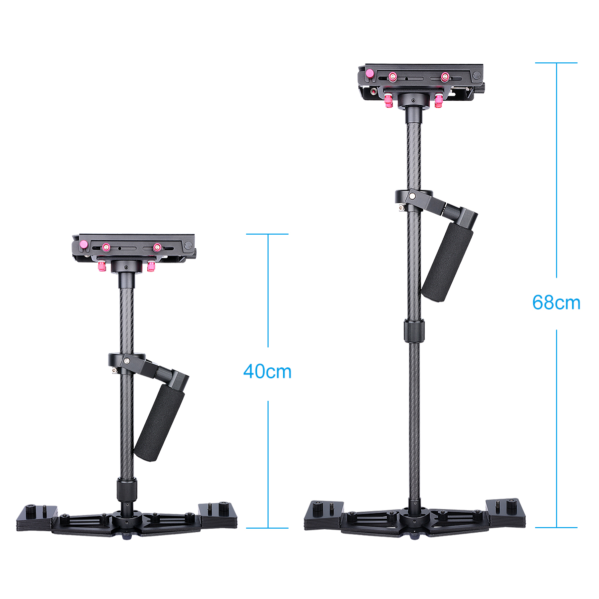 Handheld Dslr steadicam Shoulder Vest Smartphone 3 Axis Stabilizer Video Gimbal Camera Stabilizer