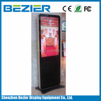 70 Inch commercial floor standing LCD wireless voice transmission device
