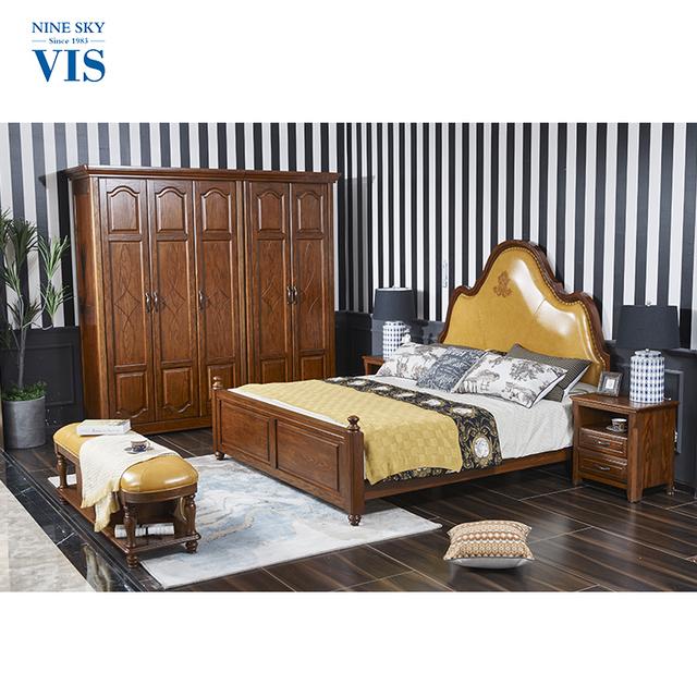 Antique Style Custom Royal Furniture Bedroom Sets