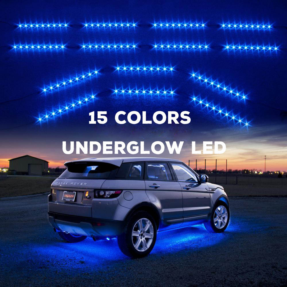 Rgb/single Color Car Underbody Led Light Kit Ground Effects ...