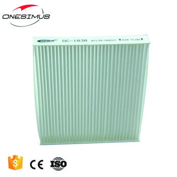 Factory direct auto parts car sponge air conditioning filter