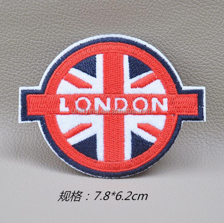 Garment Accessory Custom Made Personalized Cheap Embroidery Chenille Patches