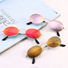 2018 New designer trendy custom fashion small Oval Women Sunglasses