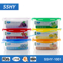 chinese supplier refrigerator lunch box airtight household food container