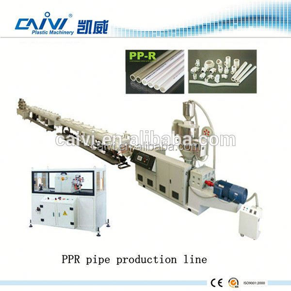 CHENDING hdpe pe ppr pipe production machine extrusion line making machine
