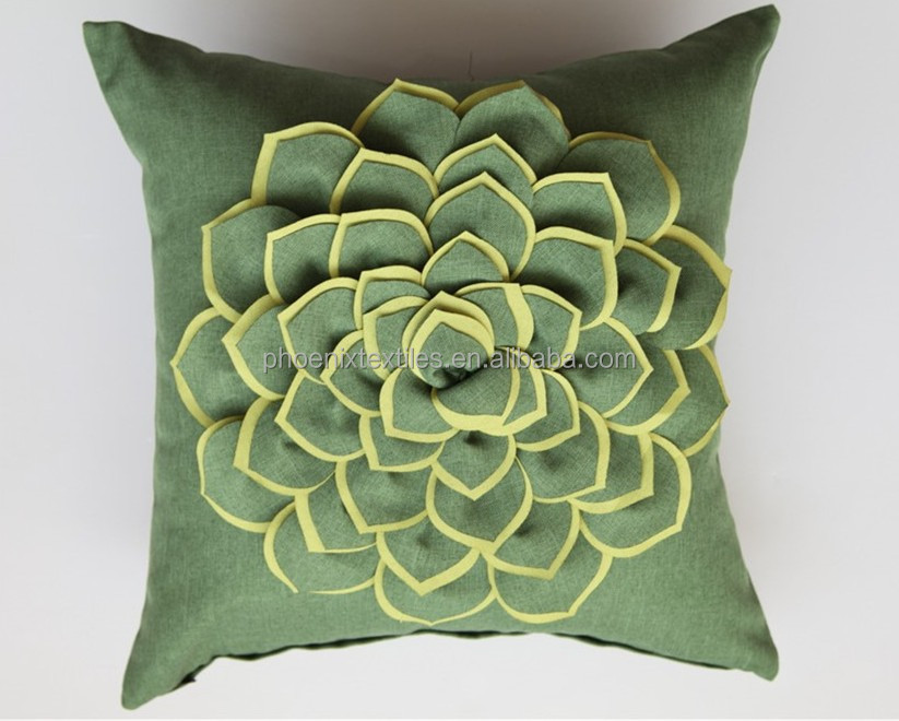Embroidery Designs Decorative 3d Pillow Cover - Buy Embroidery Designs Pillow Cover,Decorative ...