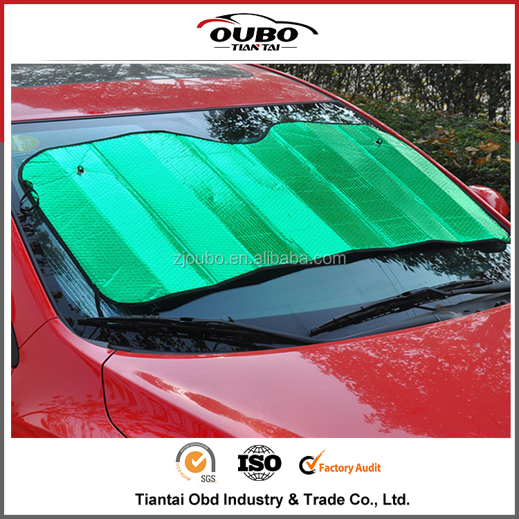 Popular customized logo car door window sun shade