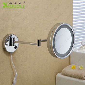 Hotel 3X Magnifier Bathroom Mirror With Light