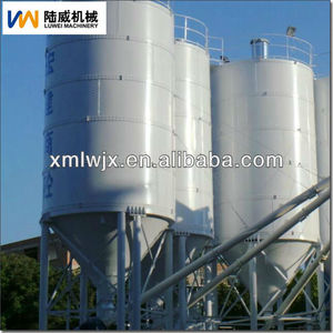 50 ton cement silo 200 ton cement silo used construction cement silo from luwei factory