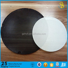 Metal mesh speaker grill, loudspeaker box cover, decorative speaker cover grill