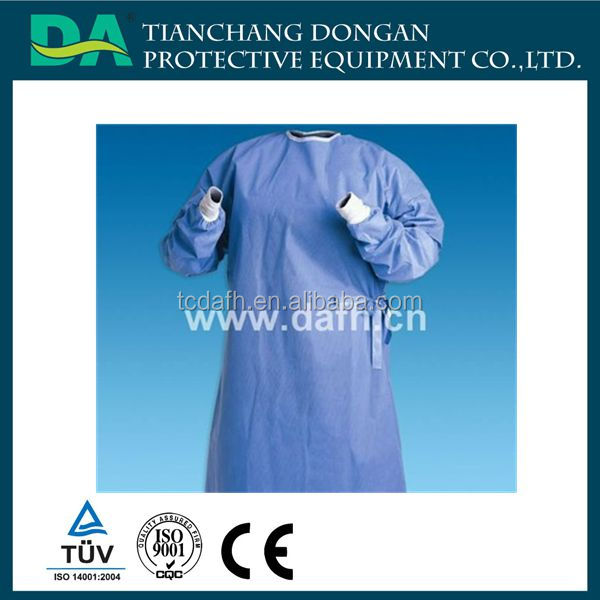 Operation Disposable Sterilized Clothes Medical Surgical Gown With ...