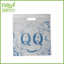 custom made PP non woven shopping bag in silk screen printing