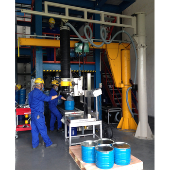 vacuum lifter for 150kg  metal bucket from China manufacturer