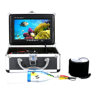7'' Digital LCD Screen 50M Underwater Ice Fish with strong cable fishing camera wifi
