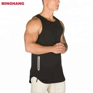 2018 Loose Fitting Costom Stringer Tank Top/ Mens Workout Sweat Wear/Mens Gym Dri-fit Stringer