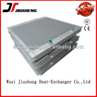 high pressure mini air compressor oil to air heat exchanger, compact brazed plate bar heat exchanger in china