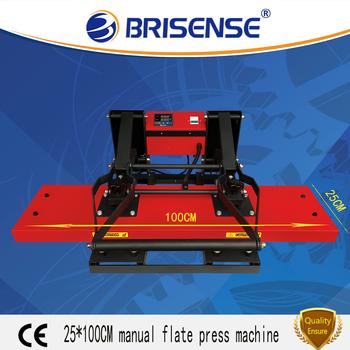 Factory Direct Sale Brisense Brand Digital Manual 25*100 Heat Transfer  Printing Machine With Ce - Buy Heat Transfer Printing Machine For Sale,Heat