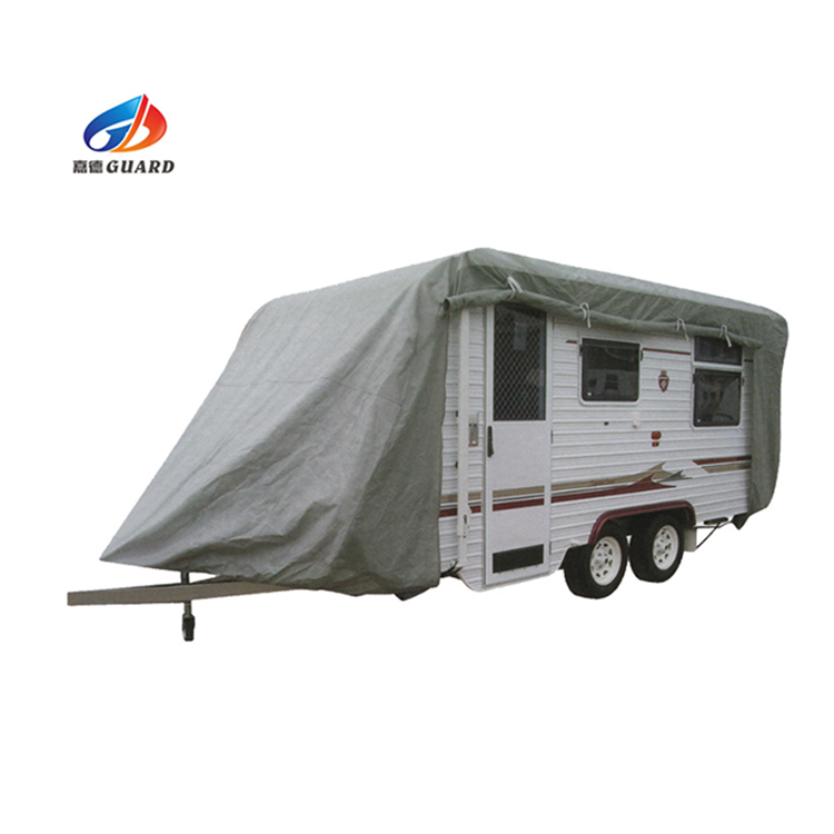 4 layer nonwoven ademend waterdicht caravan cover auto cover pop top cover