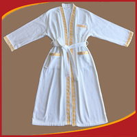 Bamboo robe egyptian cotton bath terry cloth robes wholesale embroidered robe