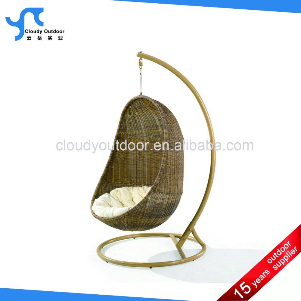 Patio Promotion Egg Shaped Wicker Chairs Cheap Hanging Chairs Garden Indoor  Metal Cheap Hanging Gourd Egg