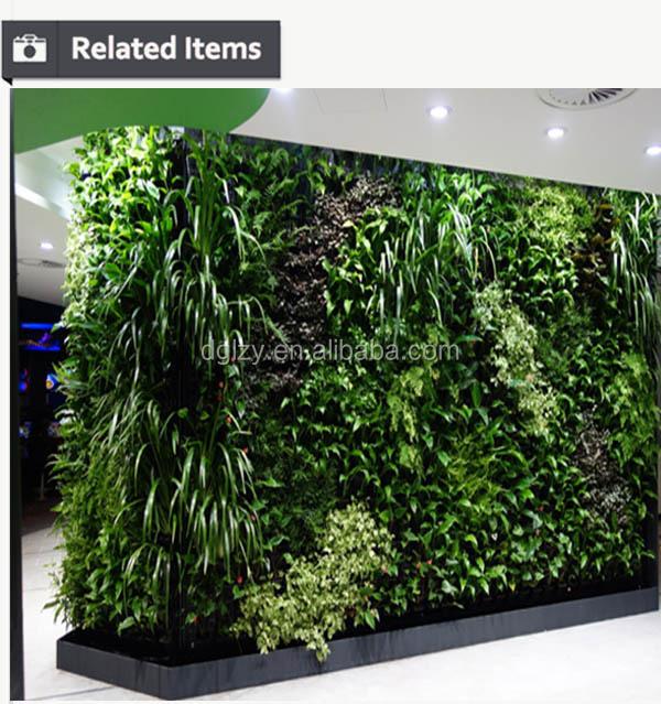Zero maintenance wall garden artificial vertical garden for Jardin vertical artificial