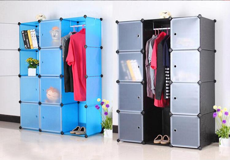 Wonderful DIY Modular Cube Storage Cabinet System Rack Shelf Wardrobe Box Storage (FH  AL0040